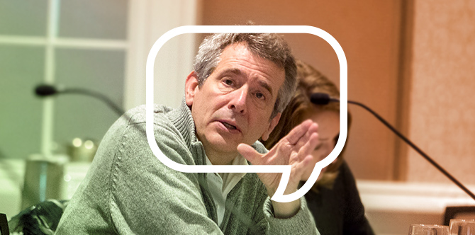 Steve DeWitte, living with Parkinson's since 2005